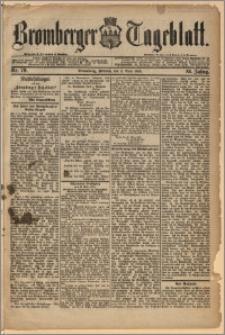 Bromberger Tageblatt. J. 12, 1888, Nr 79