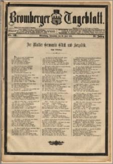 Bromberger Tageblatt. J. 12, 1888, Nr 139