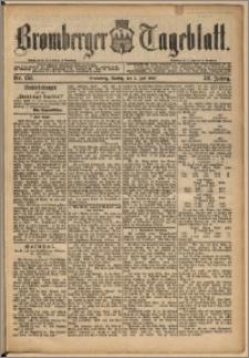 Bromberger Tageblatt. J. 13, 1891, nr 151