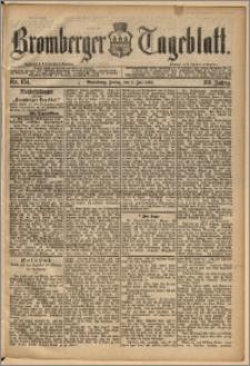 Bromberger Tageblatt. J. 13, 1891, nr 154