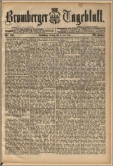 Bromberger Tageblatt. J. 13, 1891, nr 163