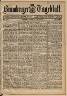 Bromberger Tageblatt. J. 13, 1891, nr 179