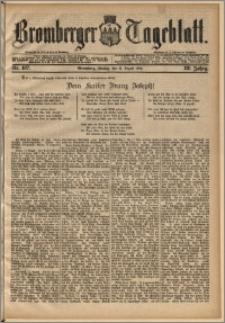 Bromberger Tageblatt. J. 13, 1891, nr 187
