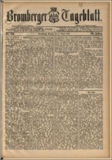 Bromberger Tageblatt. J. 13, 1891, nr 192