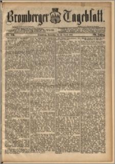 Bromberger Tageblatt. J. 13, 1891, nr 195