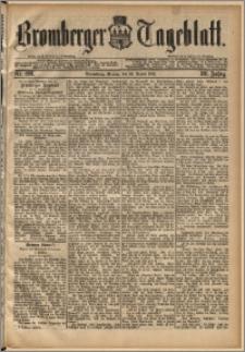 Bromberger Tageblatt. J. 13, 1891, nr 198