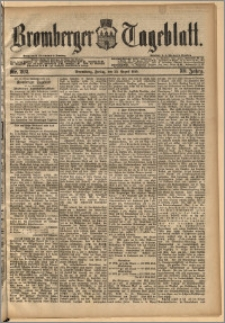 Bromberger Tageblatt. J. 13, 1891, nr 202