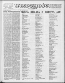 Wiadomości, R. 17 nr 46 (868), 1962