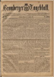 Bromberger Tageblatt. J. 13, 1891, nr 222
