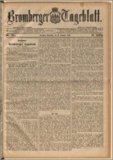 Bromberger Tageblatt. J. 13, 1891, nr 225