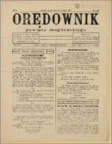 Orędownik Powiatu Mogileńskiego 1931 Nr 74