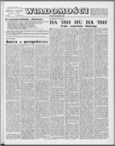 Wiadomości, R. 17 nr 49 (871), 1962