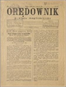 Orędownik Powiatu Mogileńskiego, 1932, Nr 1