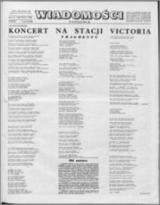 Wiadomości, R. 16 nr 3 (772), 1961