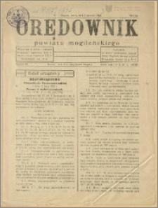Orędownik Powiatu Mogileńskiego, 1933, Nr 1