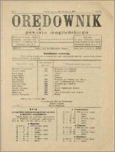 Orędownik Powiatu Mogileńskiego, 1933, Nr 4