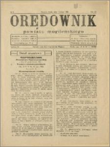 Orędownik Powiatu Mogileńskiego, 1933, Nr 9