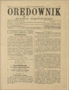 Orędownik Powiatu Mogileńskiego, 1933, Nr 11