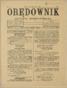 Orędownik Powiatu Mogileńskiego, 1933, Nr 17