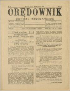 Orędownik Powiatu Mogileńskiego, 1933, Nr 28