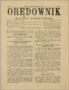 Orędownik Powiatu Mogileńskiego, 1933, Nr 33