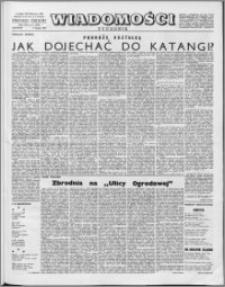 Wiadomości, R. 16 nr 6 (775), 1961
