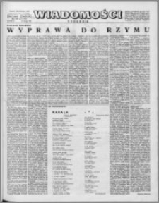 Wiadomości, R. 16 nr 8 (777), 1961