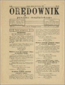 Orędownik Powiatu Mogileńskiego, 1933, Nr 98