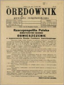 Orędownik Powiatu Mogileńskiego, 1933, Nr 99
