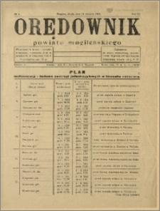 Orędownik Powiatu Mogileńskiego, 1934, Nr 7
