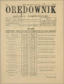 Orędownik Powiatu Mogileńskiego, 1934, Nr 9