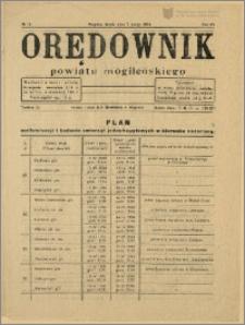 Orędownik Powiatu Mogileńskiego, 1934, Nr 11